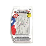 Pride Evolution Texas Flag Golf Tees 30-Pack
