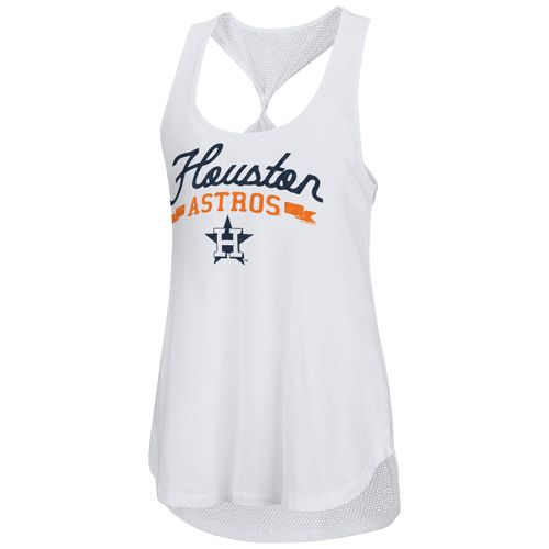 Touch by Alyssa Milano Women's Houston Astros Short Stop Tank Top
