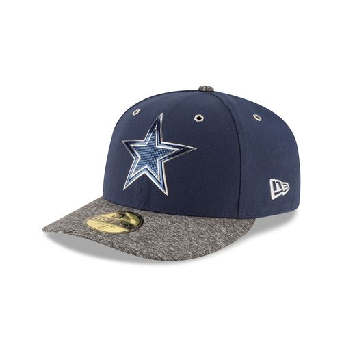 New Era Men's Dallas Cowboys Draft Low Crown Fitted Cap
