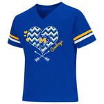 Colosseum Athletics Girls' McNeese State University Football Fan T-shirt