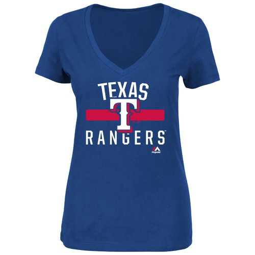 Majestic Women's Texas Rangers One Game at a