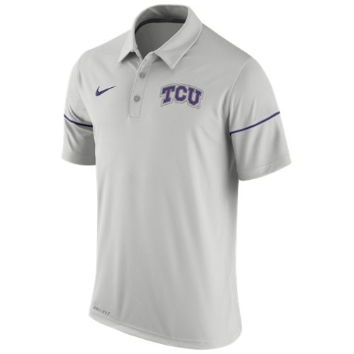 Nike Men's Texas Christian University Team Issue Polo