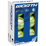 Worth Super Gold Dot Classic 12 in Slow-Pitch Softballs 6-Pack - view number 1