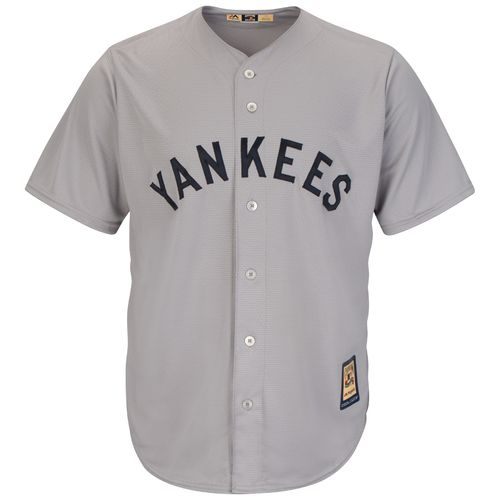 Majestic Men's New York Yankees Babe Ruth #3 Cooperstown Cool Base 1927 Replica Jersey - view number 2