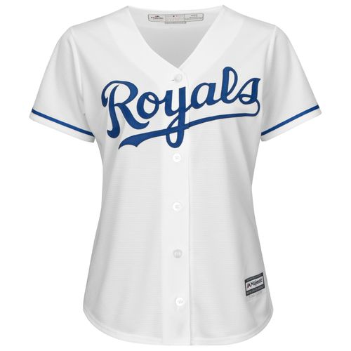 Majestic Women's Kansas City Royals Cool Base Replica Jersey