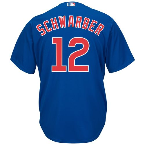 Majestic Men's Chicago Cubs Kyle Schwarber #12 Cool Base® Replica Jersey