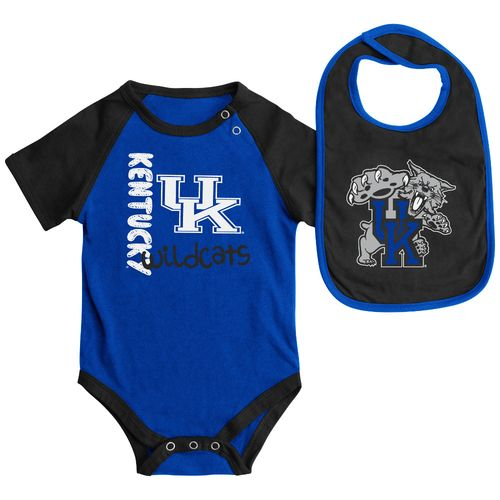 Colosseum Athletics Infants' University of Kentucky Rookie Onesie and Bib Set