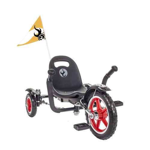 Mobo Cruiser Kids' Tot Rockabilly 3-Wheel Cruiser