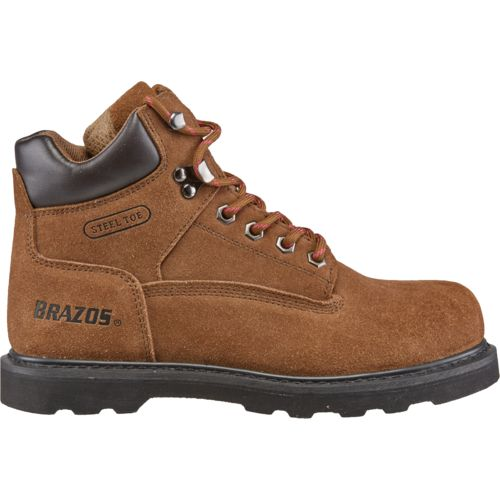 Brazos Women's Dane V Steel-Toe Work Boots