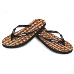 Forever Collectibles™ Women's University of Texas Glitter Logo Flip-Flops
