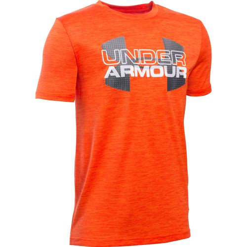 Display product reviews for Under Armour Boys' Big Logo Hybrid T-shirt