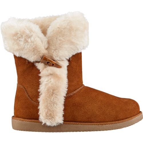 Magellan Outdoors Women's Suede Fur Boots