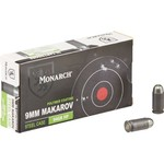 Monarch® 9 x 18 Makarov 94-Grain HP Pistol Ammunition