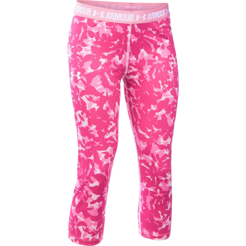 Under Armour™ Girls' UA Printed Capri Pant