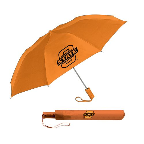 Storm Duds Adults' Oklahoma State University Automatic Folding Umbrella