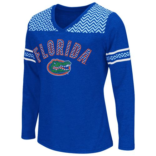 Colosseum Athletics™ Girls' University of Florida Cupie Long Sleeve T-shirt