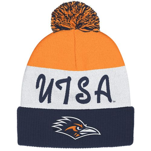 adidas™ Men's University of Texas at San Antonio Cuffed Pom Knit Cap