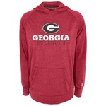 Champion™ Men's University of Georgia Raglan Pullover Hoodie