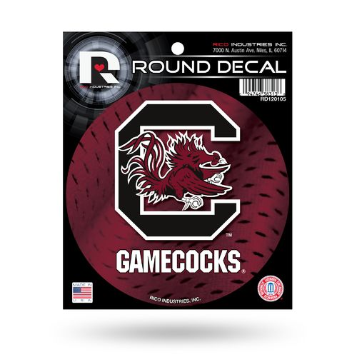 Rico University of South Carolina Round Decal