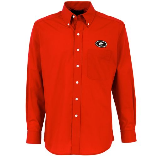 Antigua Men's University of Georgia Dynasty Dress Shirt