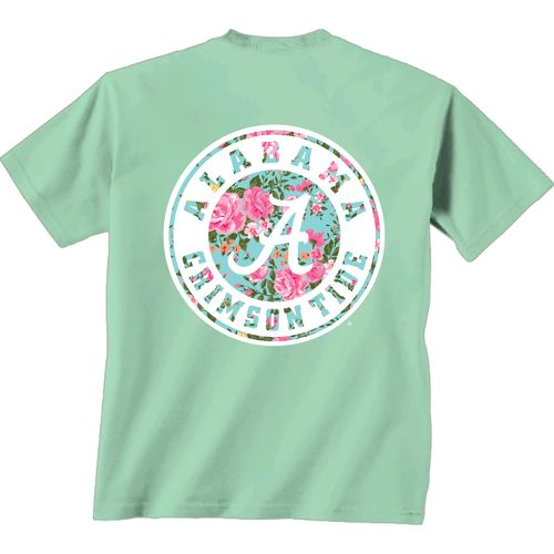 New World Graphics Women's University of Alabama Floral
