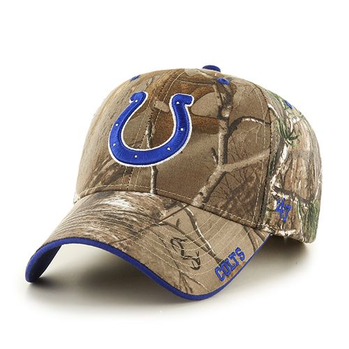 '47 Indianapolis Colts Frost Realtree Camo MVP Cap