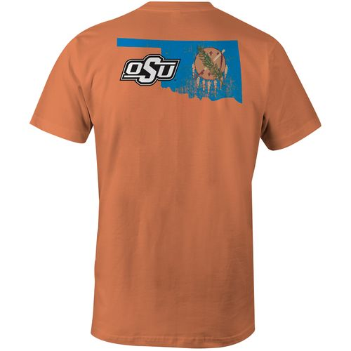 Image One Men's Oklahoma State University State Flag Comfort Color T-shirt