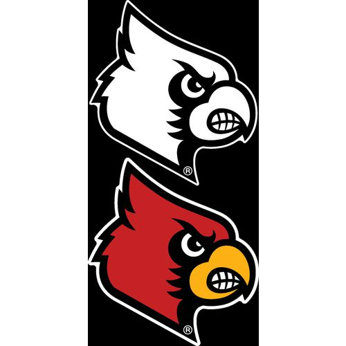"Stockdale University of Louisville 4"" x 7"" Decals 2-Pack"