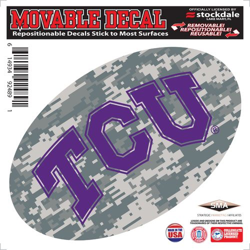 Stockdale Texas Christian University Oval Decal
