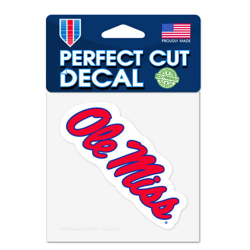WinCraft University of Mississippi Perfect Cut 4' x 4' Decal