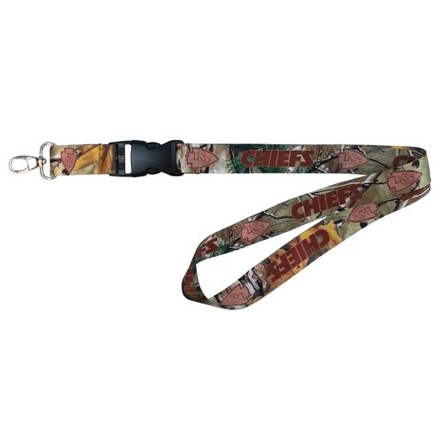 NFL Kansas City Chiefs Realtree Lanyard