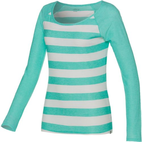 Display product reviews for BCG Women's Fashion Striped Raglan Top
