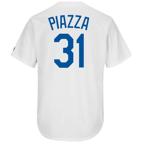 Majestic Men's Los Angeles Dodgers Mike Piazza #31 Cool Base Cooperstown Jersey