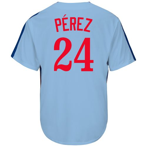 Majestic Men's Montreal Expos Andre Pérez #24 Cooperstown Cool Base Replica Jersey