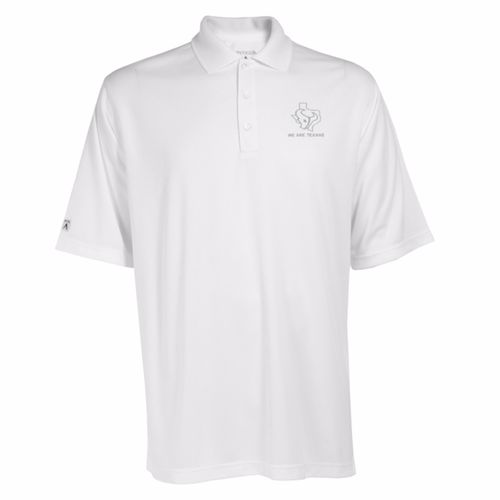 Antigua Men's Houston Texans Exceed Polo Shirt