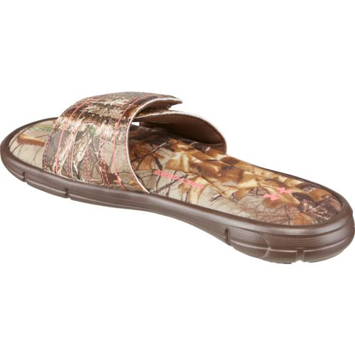 Under Armour Women's Camo Ignite V Sports Slides - view number 3