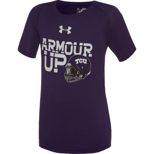 Under Armour™ Boys' Texas Christian University Tech T-shirt