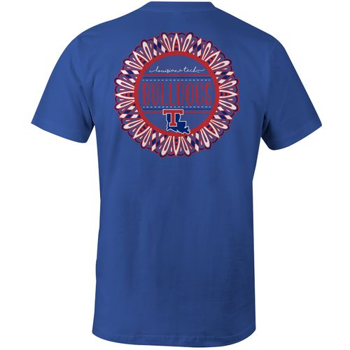Image One Women's Louisiana Tech University Color Me Comfort Color T-shirt