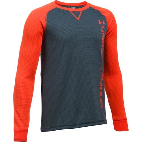 Display product reviews for Under Armour Boys' ColdGear Waffle Crew Shirt