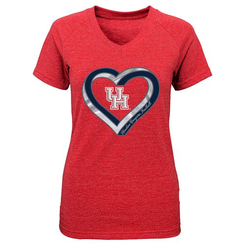 Gen2 Girls' University of Houston Infinite Heart T-shirt - view number 1