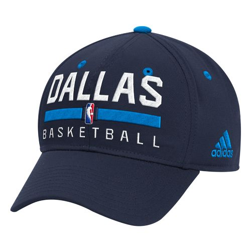 adidas Men's Dallas Mavericks Practice Structured Flex Cap