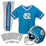 Franklin Kids' University of North Carolina Deluxe Football Uniform Set - view number 1
