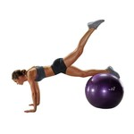 BCG 55 cm Weighted Stability Ball - view number 5