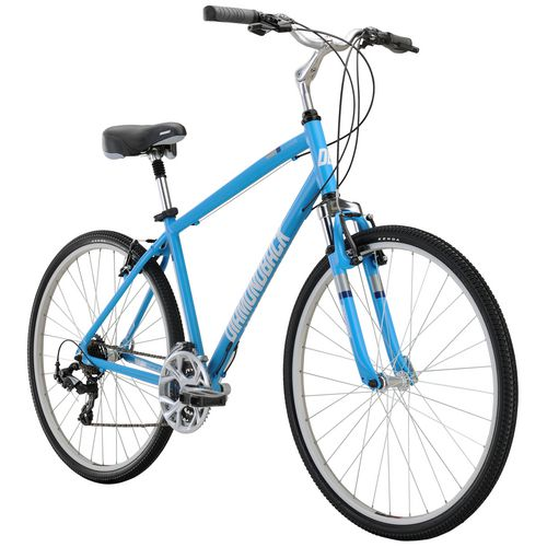 Diamondback Men's Edgewood 700c 21-Speed Comfort Hybrid Bike