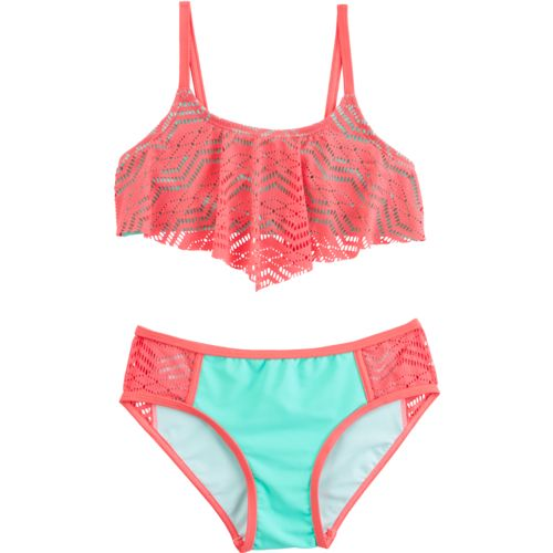O'Rageous Kids Girls' Art Deco Bikini