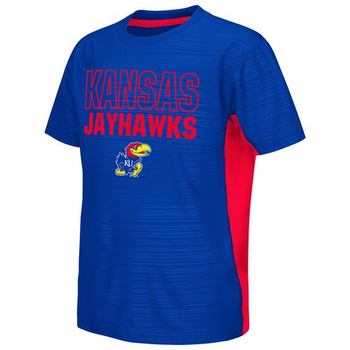 Colosseum Athletics™ Youth University of Kansas In the Vault Cut and Sew T-shirt - view number 1