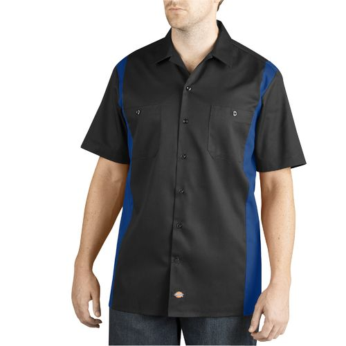 Dickies Men's 2-Tone Short Sleeve Work Shirt