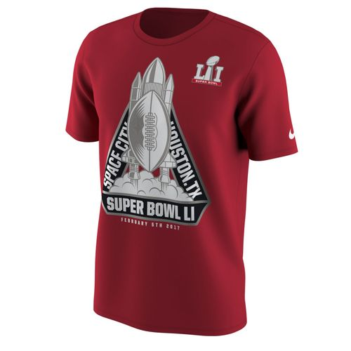 Nike Men's NFL Super Bowl 51 Blast Off Hero 2017 T-shirt