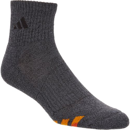 adidas Men's Cushioned Quarter Socks