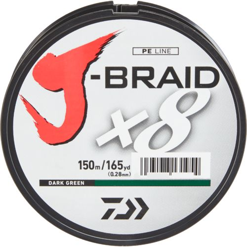 Display product reviews for Daiwa J-Braid 150 m Braided Fishing Line